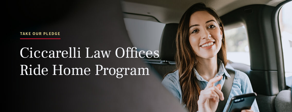 Ciccarreli Law Offices Ride Home Program